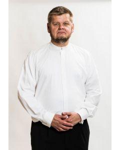 Miesten valkoinen papin juhlakaftaanipaita, Ateljé Solemnis