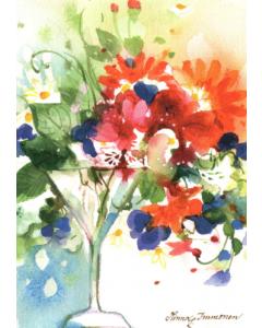 Akvarelli Postikortit 10 kpl