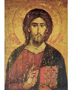 Ikoni Kristus Kaikkivaltias Athosvuorelta