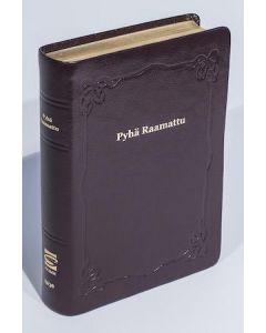 33/38 Keskikokoinen Raamattu viininpunainen reunahakemisto