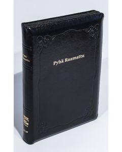 33/38 Marginaaliraamattu musta vetoketju ja reunahakemisto