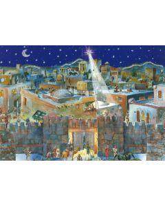 Joulukalenteri No 567 Beetlehemin muurilla