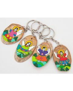 Värikäs avaimenperä El Salvadorista