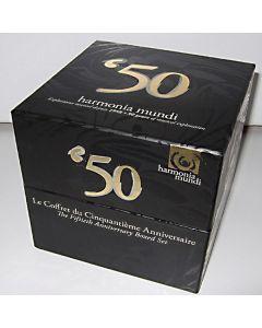 CD '50 Harmonia Mundi 30 CD box - 50 years of musical exploration