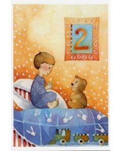 Onnea ja siunausta 2-vuotiaalle (Polkutie) 20 kpl