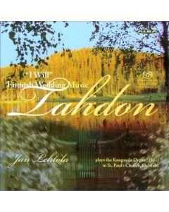 CD TAHDON, FINNISH WEDDING MUSIC