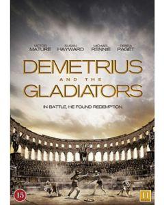 DVD Demetrius and The Gladiators