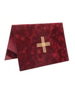 Kirkkokansio tabletille/lukulaitteelle, punainen
