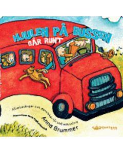 Hjulen på bussen går runt