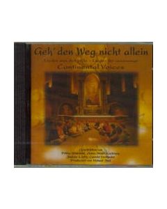 CD Geh' den Weg nicht alein - Hiljaisuuden lauluja saksaksi