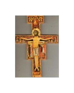 San Damianoksen risti 9x6,3 cm