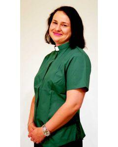 Lyhythihainen diakoniatyöntekijän paita naiselle, Sacrum