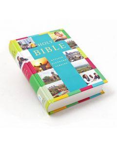 Englanti Holy Bible, Revised Standard Version värikäs kansi