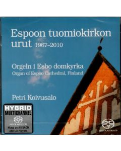 CD Espoon tuomiokirkon urut 1967-2010