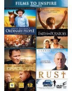 Angus Buchan´s Ordinary People, Faith like potatoes, Gracecard, Rust 4-DVD