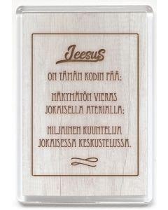Magneetti Jeesus on tämän kodin pää
