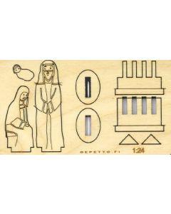Maria, Joosef, Jeesus - Koottavat seimihahmot