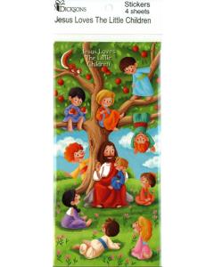 Tarra Jeesus siunaa lapsia