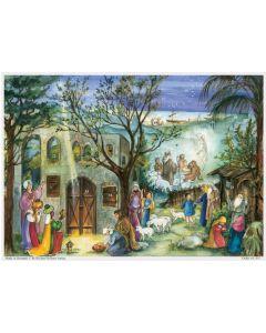 Joulukalenteri no 811 Betlehemin seimellä