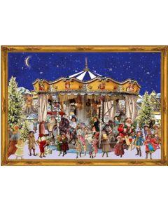 Suklaajoulukalenteri no S780 Joulukaruselli