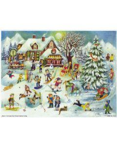 Joulukalenteri no 70131 Lumileikit