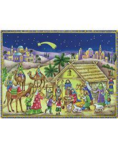 Suklaajoulukalenteri no S132 Jouluseimi