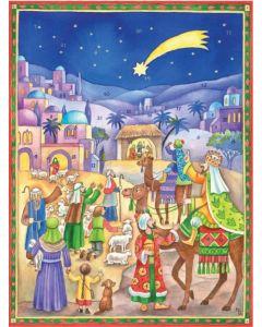 Joulukalenteri no 70136, Kolmen kuninkaan tulo tallille
