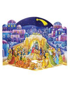 Joulukalenteri no 572, kolmiulotteinen, Vierailu tallilla