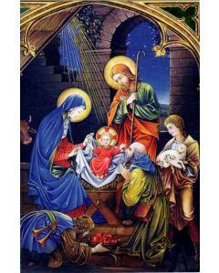 Joulukortti Pyhä perhe ja paimenet R124 5 kpl