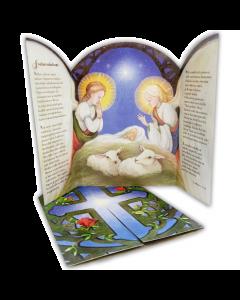 Joulukortti Pyhä perhe