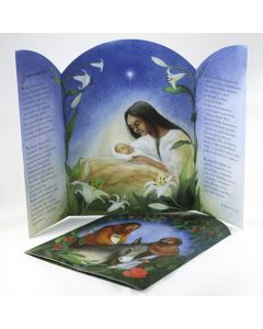 Joulukortti Julkort +kuvert