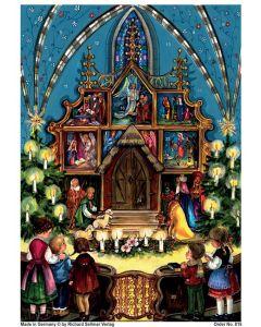 Joulukalenteri no 815 Joulunäytelmä