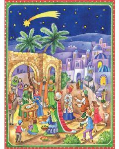 Joulukalenteri no 70121 Betlehemin seimellä
