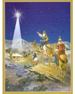 Joulukalenteri no 759 Kuninkaat seuraavat tähteä