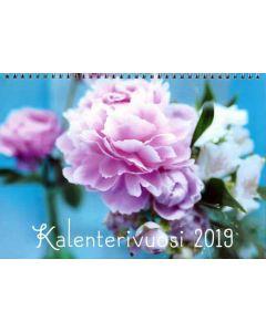 Kalenterivuosi 2019 seinäkalenteri