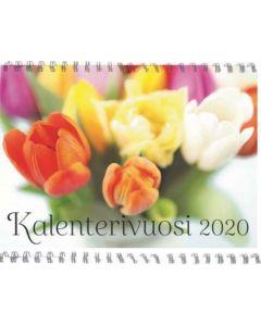 Kalenterivuosi 2020 seinäkalenteri