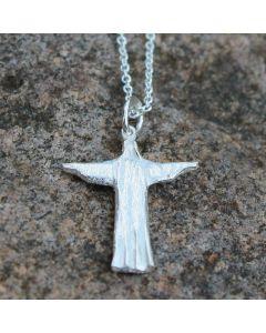 Kaulakoru Kristus hopeaa