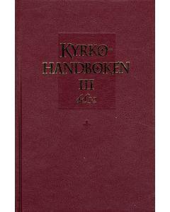 Kyrkohandboken III, Del I-II