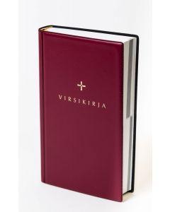 Kirkkovirsikirja taipuisakantinen punainen