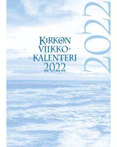 Kirkon viikkokalenteri 2022 pelkkä vuosipaketti