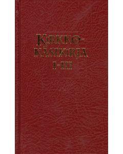 Kirkkokäsikirja I-III, punainen