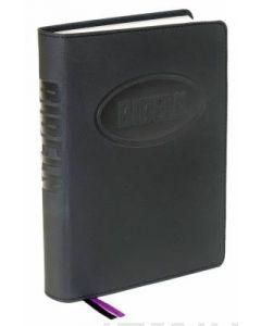 Bibeln -. Konfirmandbibeln svart