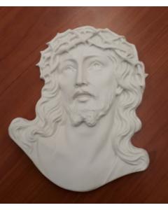 Kristuksen kasvot marmoria