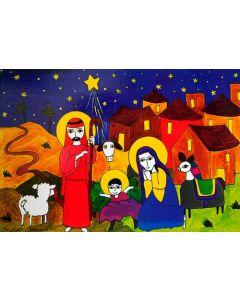 Joulukortit El Salvadorista, 1-osaiset 10 kpl