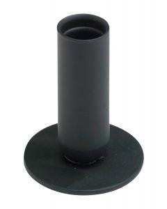 Kynttilänjalka musta 8 cm