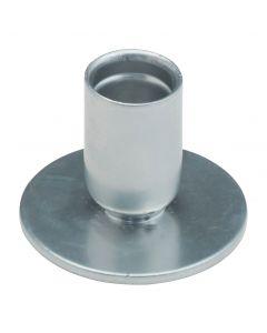Kynttilänjalka  hopeoitu 4 cm