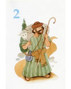 Onnea ja siunausta 2-vuotiaalle (Löfgren) 20 kpl