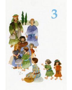 Onnea ja siunausta 3-vuotiaalle (Löfgren) 20 kpl