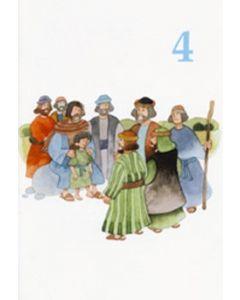 Onnea ja siunausta 4-vuotiaalle (Löfgren) 20 kpl