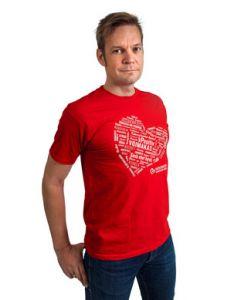 Yhteisvastuu Lupaus t-paita slim